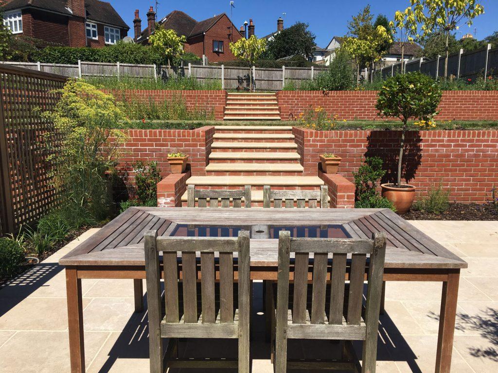 back garden in Colchester