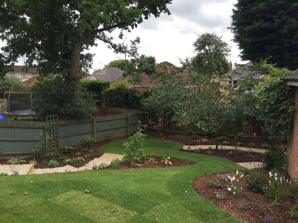 the result of good garden desing