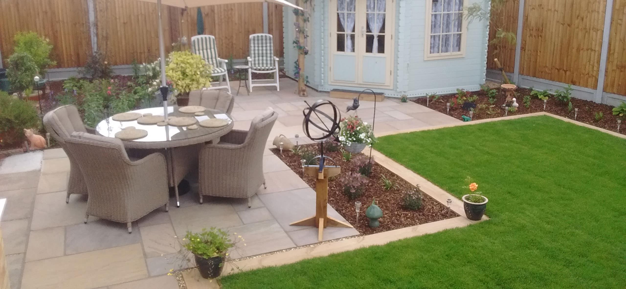 Residential Back Garden Design, Tapestry Design Studios