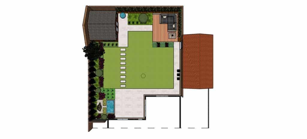 garden design ideas concept plan
