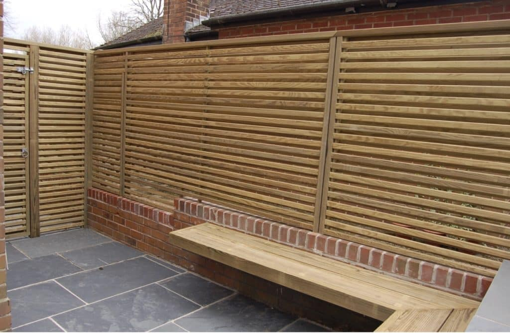 southerrn yellow pine timber screen