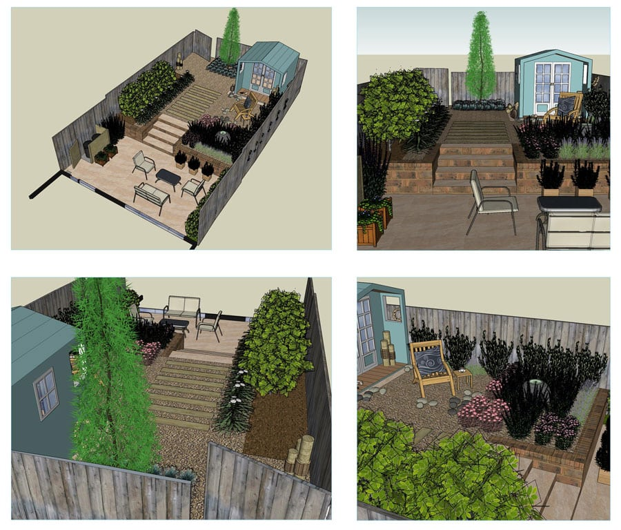 coastal themed lifestyle gardens are a popular choice for low maintenance spaces